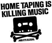 [BILD] Logo: Home Taping Is Killing Music - And It's Illegal.