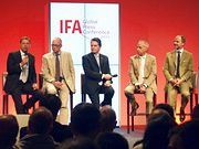 [BILD] Podium IFA Global Press Conference 2014, Belek, Türkei - (c) Felix Wessely
